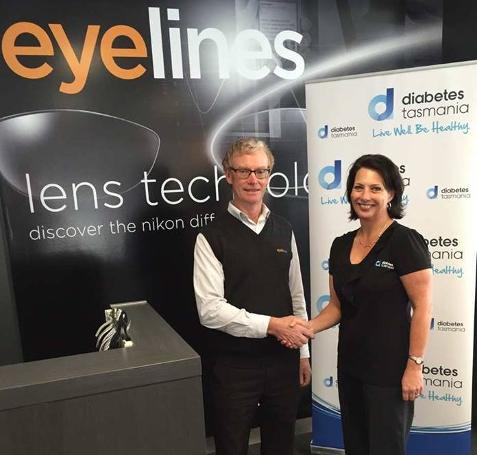 Will Downie CEO Eyelines with Caroline Wells CEO Diabetes Tas